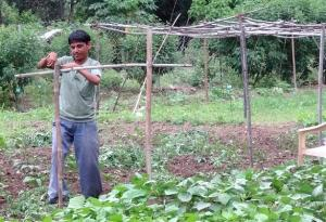 A new set of smaller and lighter farm tools for those with functional disabilities have also been developed.