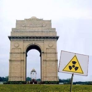 The proposed site is only 150 km from Delhi.